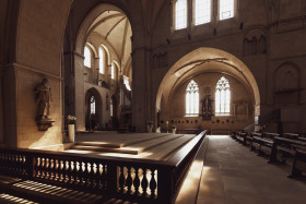 Stock Image: st paulus dom munster interior