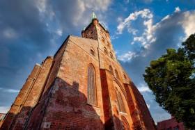 Stock Image: St. Peters Church - Lübeck