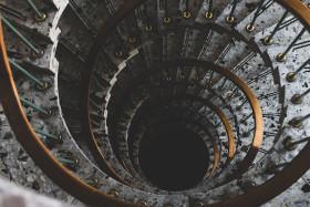 Stock Image: stair circle