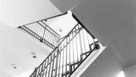 Stock Image: modern staircase