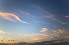 Stock Image: Sunset Sky