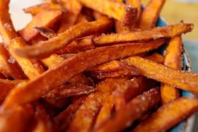 Stock Image: Sweet potato fries