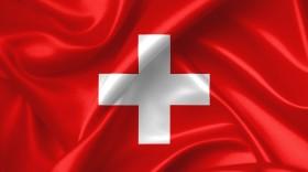 Stock Image: swiss flag
