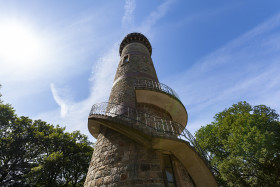 Stock Image: Toelleturm Historic sight in Wuppertal