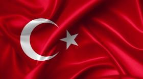 Stock Image: turkish flag