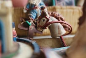 Stock Image: Vintage Hobbyhorse