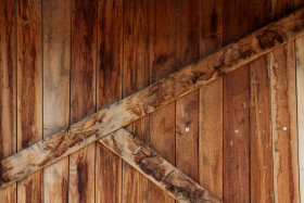 Stock Image: Wooden wall texture