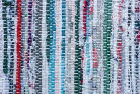 Stock Image: Woven carpet texture