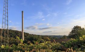 Stock Image: wuppertal landscape nuetzenberg